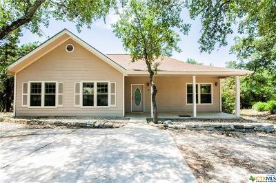 Canyon Lake Single Family Home For Sale: 737 Canyon Edge