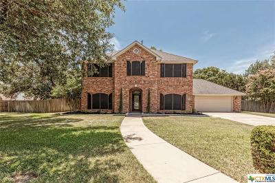Temple Single Family Home For Sale: 2615 Taylors Ridge Road