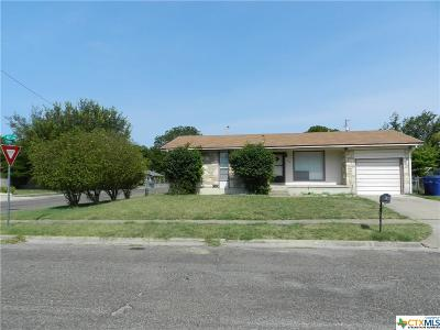Copperas Cove Single Family Home For Sale: 1212 S 13th
