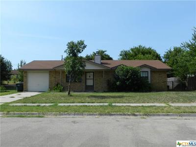Copperas Cove Single Family Home For Sale: 908 Hackberry