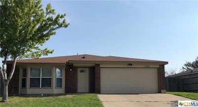 Killeen TX Single Family Home For Sale: $119,500