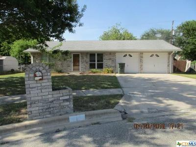 Killeen TX Single Family Home For Sale: $83,500