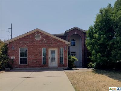 Harker Heights Single Family Home For Sale: 402 Reservation