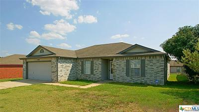 Killeen Single Family Home For Sale: 3400 Woodlake Dr.