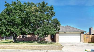Killeen Single Family Home For Sale: 3905 Shellrock