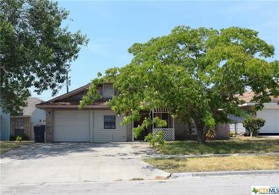 Killeen Single Family Home For Sale: 2108 Cascade