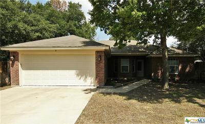Belton TX Single Family Home Pending: $157,500