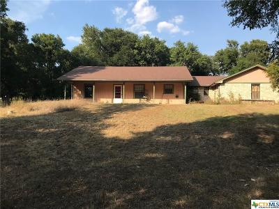 Belton Single Family Home For Sale: 1780 Shanklin Road