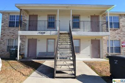 Killeen Single Family Home For Sale: 1306 Dugger
