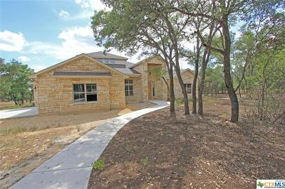 Salado Single Family Home For Sale: 1411 Crystal Springs