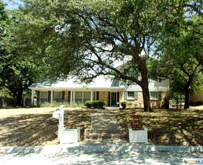Temple Single Family Home For Sale: 3706 Chisholm Trail