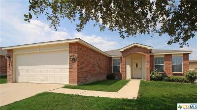 Killeen Single Family Home For Sale: 3501 Starfish Drive