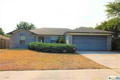 Killeen Single Family Home For Sale: 1909 Sundown