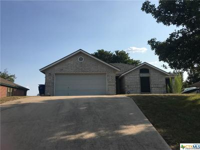 Copperas Cove Single Family Home For Sale: 1404 High Chapparal