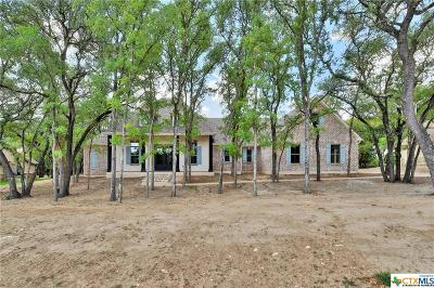 Salado Single Family Home For Sale: 10915 Stinnet Mill