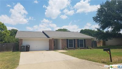 Temple Single Family Home For Sale: 2006 Carnation Lane