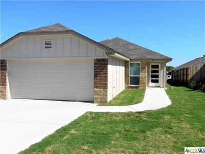 Temple TX Single Family Home Pending: $135,400