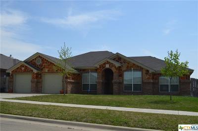 Killeen Single Family Home For Sale: 3608 Tecovas Springs