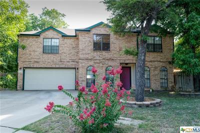 Copperas Cove Single Family Home For Sale: 2308 Darwin
