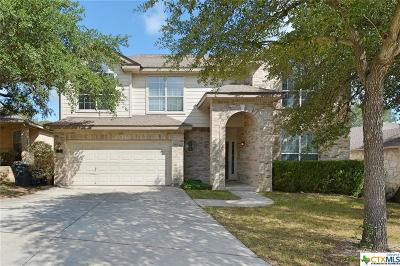 New Braunfels TX Single Family Home Under Contract: $269,900