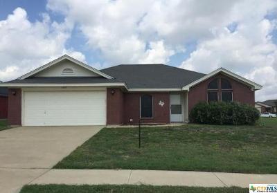 Killeen Single Family Home For Sale: 3509 Stallion Drive
