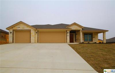 Harker Heights Single Family Home For Sale: 2525 Faux Pine