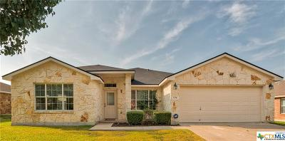 Harker Heights Single Family Home For Sale: 104 Lone Shadow Drive