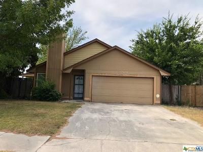 Killeen Single Family Home For Sale: 3704 Daniels Drive