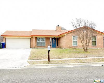 Copperas Cove Single Family Home For Sale: 1402 Janet Lane