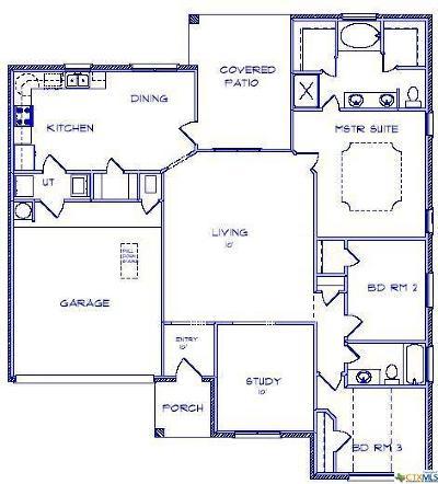 Temple Single Family Home For Sale: 906 Kacie