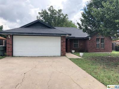 Killeen Single Family Home For Sale: 4503 Chantz
