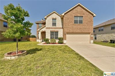 Harker Heights Single Family Home For Sale: 2602 Moose Hide