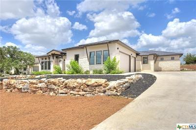 New Braunfels Single Family Home For Sale: 5918 Keller Ridge