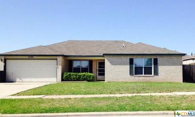 Killeen Single Family Home For Sale: 3504 Driftwood