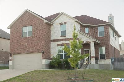 Killeen TX Single Family Home For Sale: $289,500