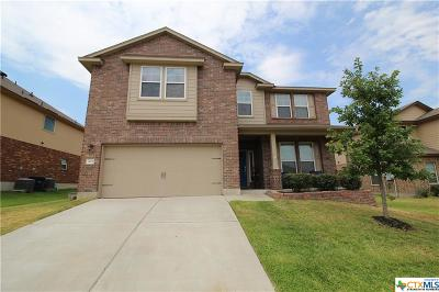 Killeen Single Family Home For Sale: 3107 Cricklewood Drive