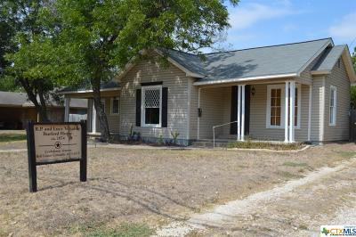Belton Single Family Home For Sale: 430 N Wall