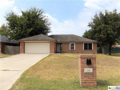 Belton Single Family Home For Sale: 28 Buckskin Loop