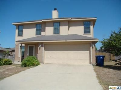 Copperas Cove Single Family Home For Sale: 405 Sumac Trail