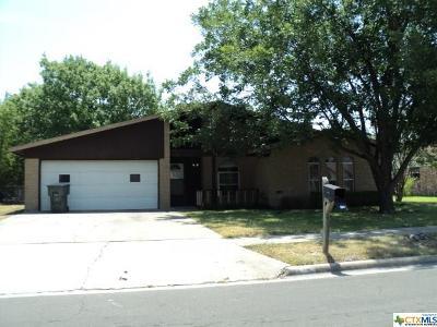 Killeen Single Family Home For Sale: 1708 Hooper Street