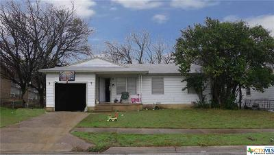 Killeen Single Family Home For Sale: 109 W Vardeman Avenue