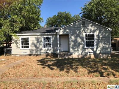 Killeen Single Family Home For Sale: 214 Carter Street