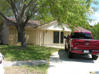 Copperas Cove Single Family Home For Sale: 236 Bridle Drive