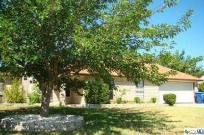 Copperas Cove Single Family Home For Sale: 104 Zarley