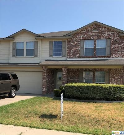 Killeen Single Family Home For Sale: 5305 Golden Gate Drive