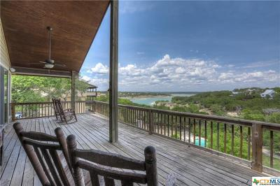 Canyon Lake Single Family Home For Sale: 605 Riviera Drive