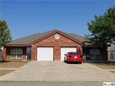 Killeen Single Family Home For Sale: 4503 July Drive