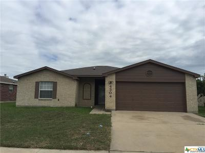 Killeen Single Family Home For Sale: 4304 Paintbrush Drive