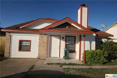 Killeen Single Family Home For Sale: 2246 Hilltop