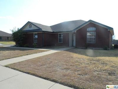 Killeen Single Family Home For Sale: 4309 Maggie